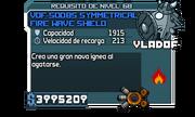 VDF-50OBS Symmetrical Fire Wave Shield