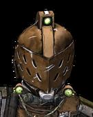 Голова - Космический рыцарь
