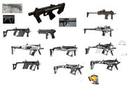 Borderlands2 weapon hyperion smg sketches 03 by kevin duc