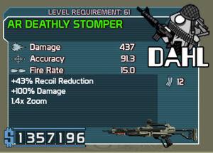 Dahl AR Deathly Stomper (R10) (L61)