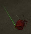 Off-shore oil can