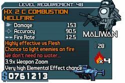 HX 2 C Combustion HellFire
