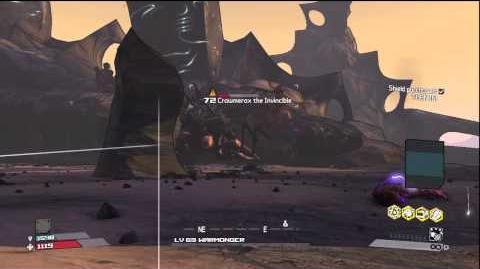Borderlands - Crawmerax The Invincible - Solo Run with Brick - HD Gameplay