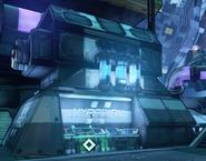 Главный реактор силового поля