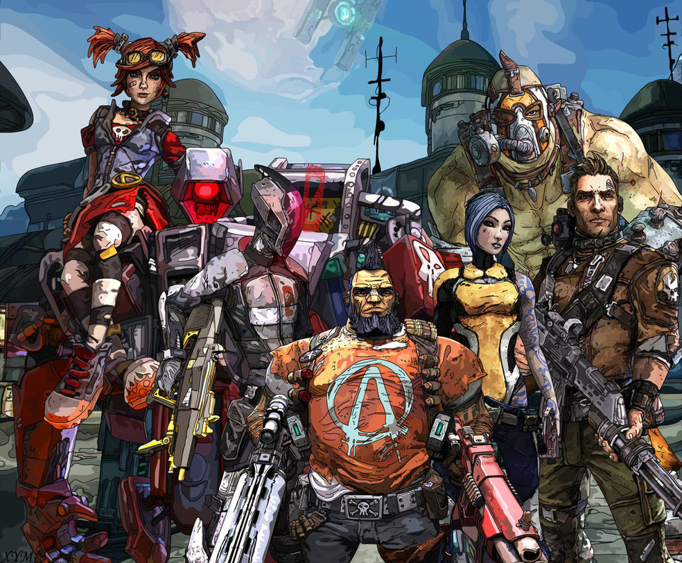 Classes | Borderlands Wiki | Fandom