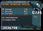 34 CR780 GENOCIDE RAVEN