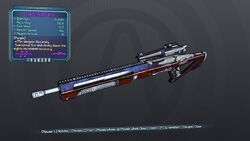 Capital Sniper Rifle 70D Purple None