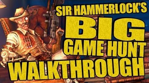 Sir Hammerlock's Big Game Hunt GAMEPLAY WALKTHROUGH! New Borderlands 2 DLC Part 3