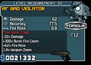 37 rf bad violator*