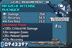 AR320-B Intense Avenger OBY