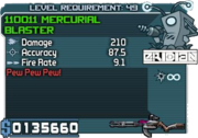 Mercurial blaster