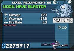 Wave blaster