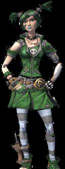 Gaige-Skin-Green Meanie