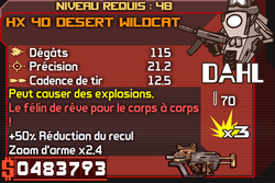 HX 4D Desert Wildcat