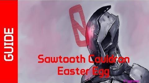 Sawtooth Cauldron Easter Egg