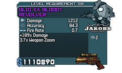 DL10 XX Bloody Revolver