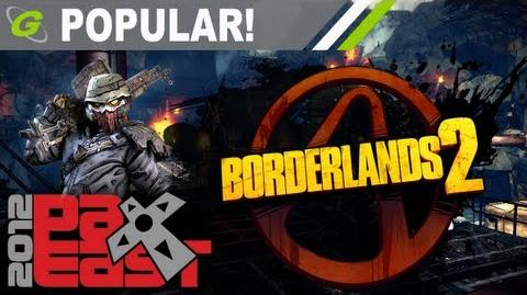 PAX 2012 13 Minutes Borderlands 2 Gameplay presented by Gearbox Software