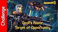 Devil's Razor Challenge Target of Opportunity
