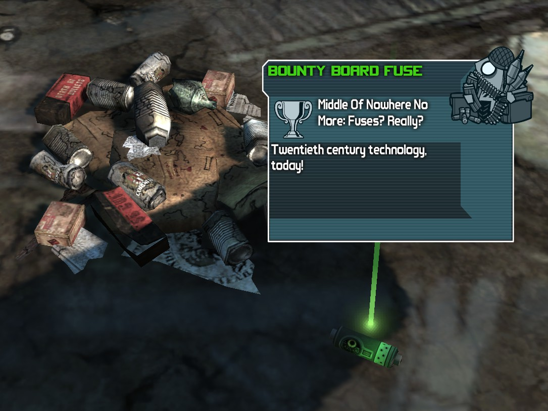 Middle Of Nowhere No More: Fuses? Really? | Borderlands Wiki ... on