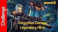 Voracious Canopy Challenge Legendary Hunt