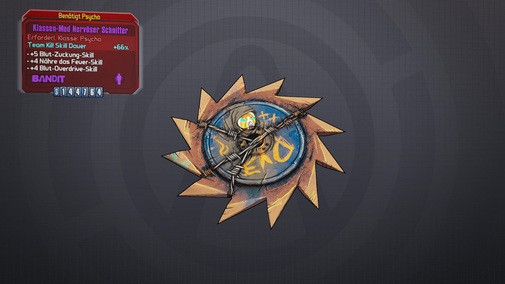 Reaper (class mod) | Borderlands Wiki | FANDOM powered by Wikia