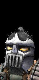 Голова - Бушующий босс