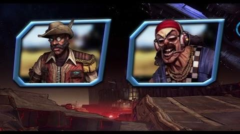Borderlands The Pre-Sequel ¡Una presentación con Sir Hammerlock y Torgue!