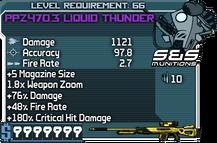PPZ470.3 Liquid Thunder happypal