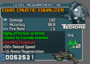 Caustic equalizer 40
