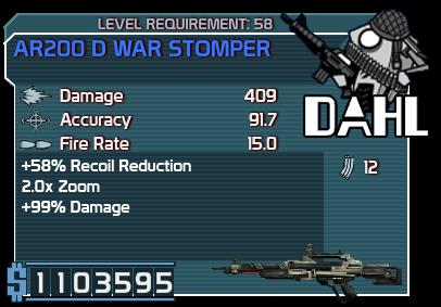 AR200 D War Stomper