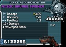 AX300 Savage Masher