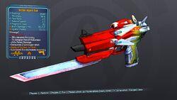 Action Logan's Gun 57 Orange Fire