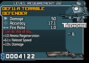 22 DEF11-A Terrible Defender*