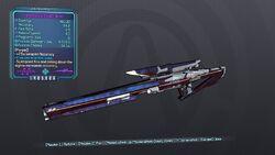 Investment Sniper Rifle 70M Purple Cryo