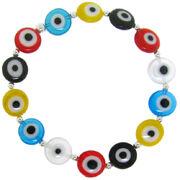 Sterling-Silver-Multicolor-Acrylic-Evil-Eye-Stretch-Bracelet-L13832583