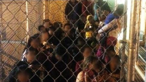The Invisible Crisis Small Children Crossing the US Border on Their Own-0