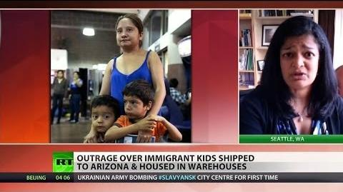 Feds struggling to house undocumented children crossing the border-0