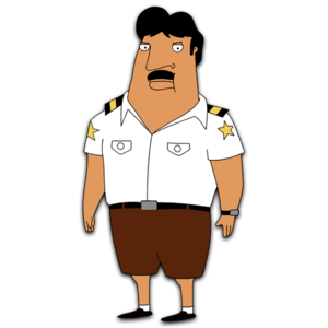 Bordertown HD CLEAR Character ART Steve Hernandez