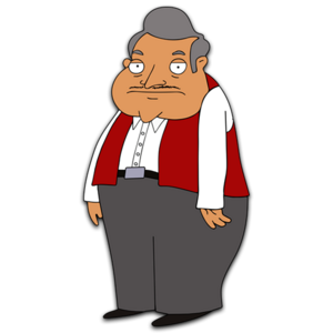 Bordertown HD CLEAR Character ART Placido Gonzalez