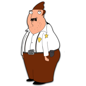 Bordertown HD CLEAR Character ART Bud Buckwald