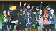 Boruto Rallies Troops