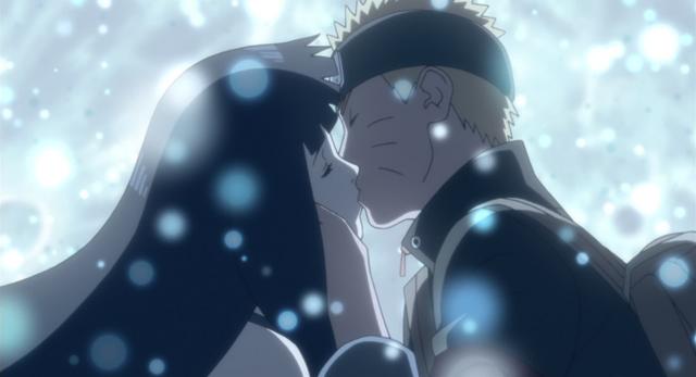Image - Naruto and Hinata kiss.png | Boruto Wiki | FANDOM ...