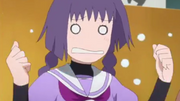 Sumire flustered