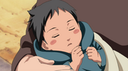 Sasuke as an infant