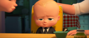 The Boss Baby - Theodore smiling at tim after eating