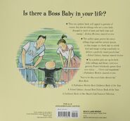The Boss Baby paperback back cover