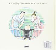 The Boss Baby Italian back cover