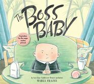 The Boss Baby paperback front cover