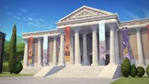 The Museum Job- Museum exterior