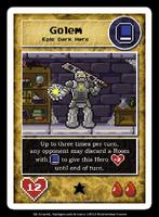 Golem Custom Card by JustSparky